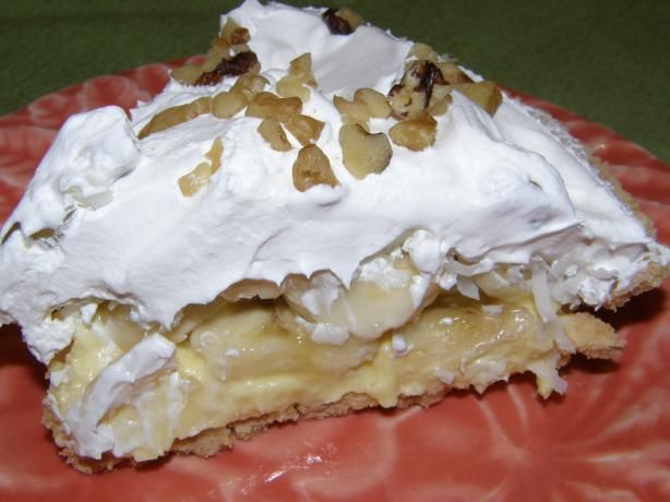 Banana Cream Dessert! Made it and loved it. So easy and quick to make.