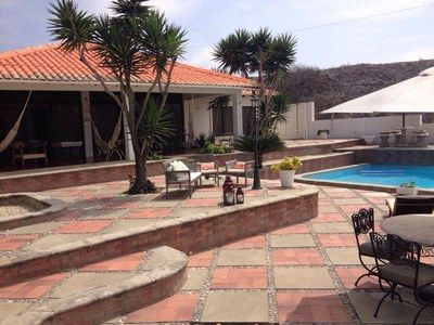 Beach Paradise Punta Blanca - Wonderful Single Family Home - Beach Houses for Sale — MLS Ecuador
