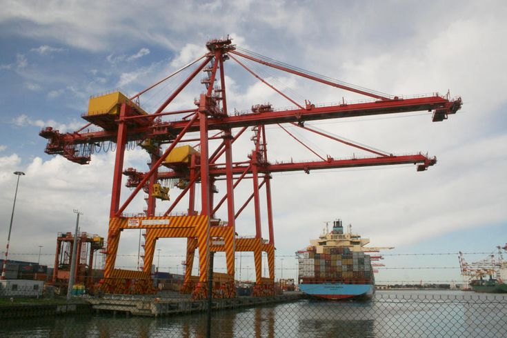 Image result for shipping container crane