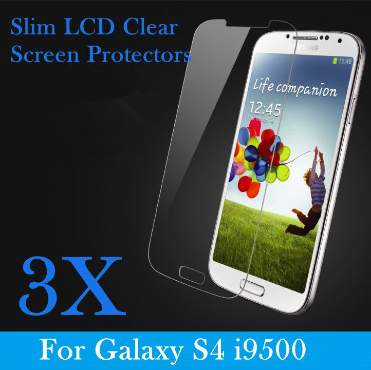 Samsung Galaxy S 4 i9500 Screen Protectors   http://www.karenonlineshop.com.au/collections/screen-protectors-1/products/3-x-samsung-galaxy-s-4-i9500-ultra-slim-crystal-clear-lcd-film-guard-screen-protectors-1-pc-front