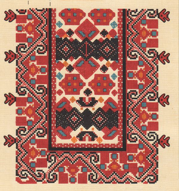 Inspirational: motive si cusaturi traditionale romanesti. Romania