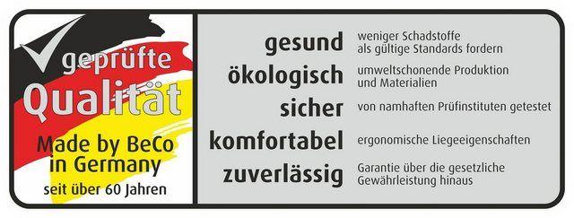Komfortschaummatratze »Platin«, , 25 cm hoch, Raumgewicht: 40, (1-tlg), Zum Vorteilspreis für alle H