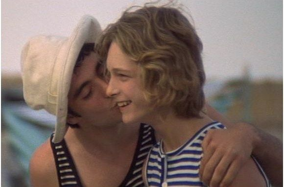 Death in Venice kiss