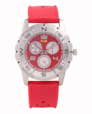 Buy Now Q705i Red #Analog #Watch For #Men online from flipkart #India at low price, http://bit.ly/1QYnL8G