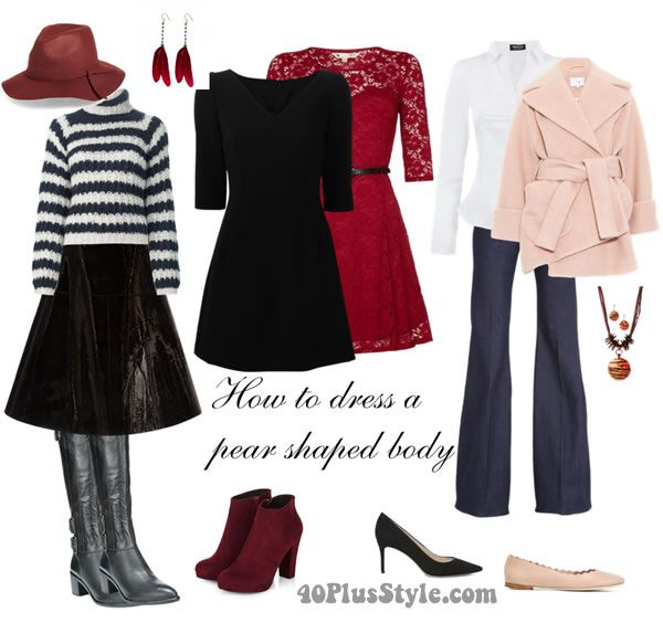 I updated my page on how to dress the pear shaped body and added some perfect items for pear shaped women that you buy online right now.