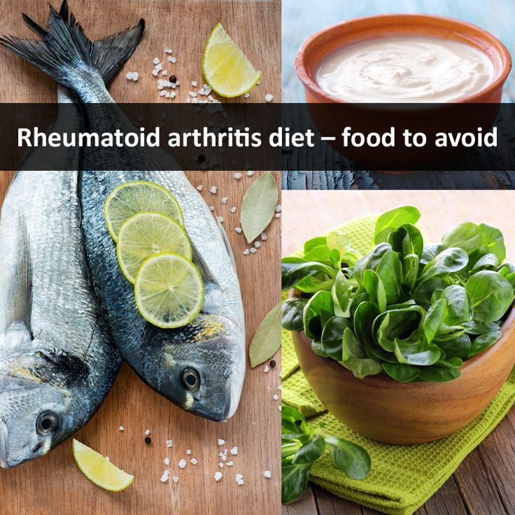 Foods to avoid with rheumatoid arthritis / Men day program