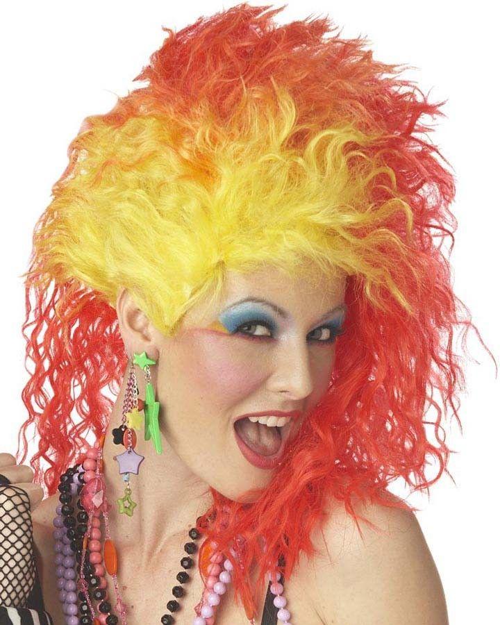 true colors 80s wig