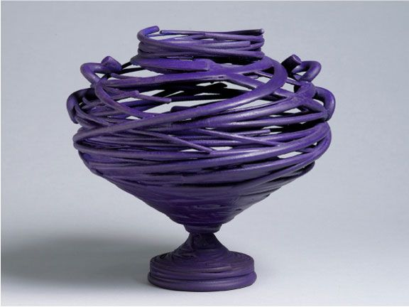 Coiling Pottery Technique Exposed Coil Pinterest