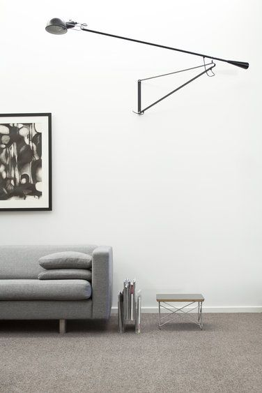 A personal favourite - the Flos 265 Wall Lamp http://www.nest.co.uk/product/flos-265-wall-lamp