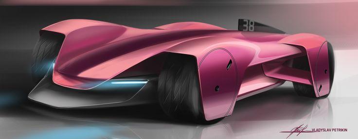 SD#38_roborace #car, #design, #automotivedesign, #cardesign, #transportdesign, #vehicledesign, #concept, #conceptcar, #sportcar, #sketch, #carsketch, #sketching,#quick #cardrawing, #photoshop, #future, #wheels, #electric, #roborace, #engine, #racer, #track