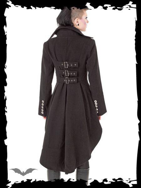 Dámsky kabát Queen Of Darkness JA1-260/12 - 2