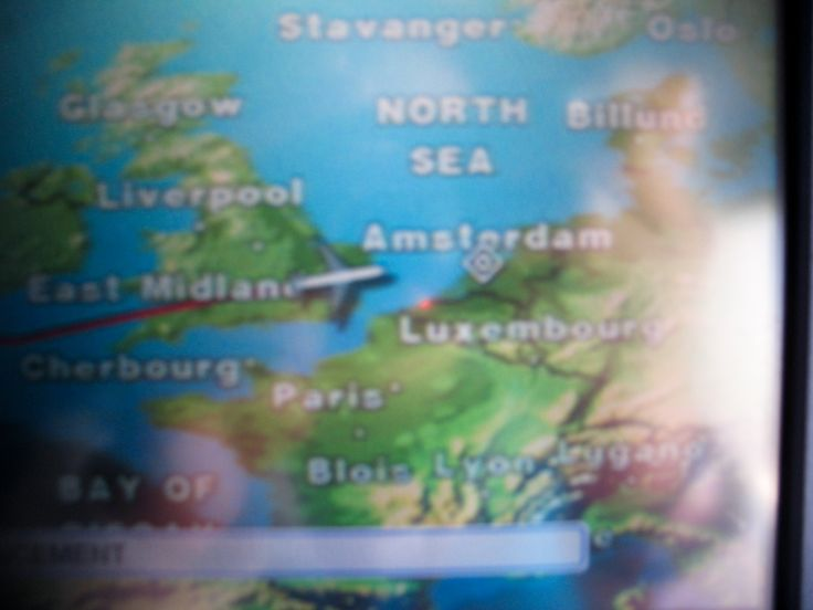 Llegando a #Ámsterdam #Holanda #KLM