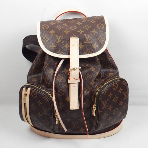 Louis Vuitton M40107 faddish Lady Bag in Dark Coffee