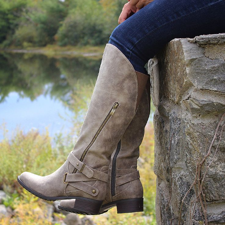 Take a look at the Intaglia event on zulily today! Wide and extra wide calf boots