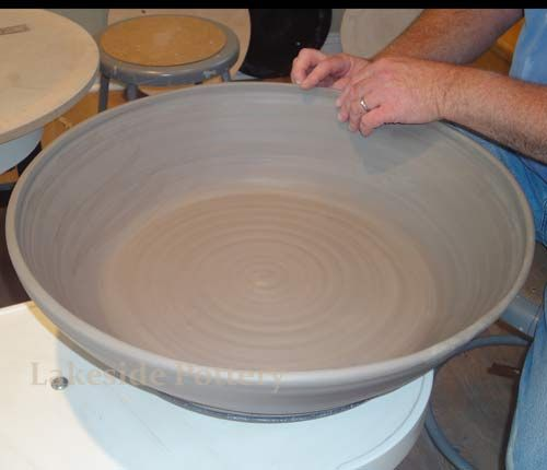 Clay amounts for different size vessels. Lakeside Pottery's website has great information.