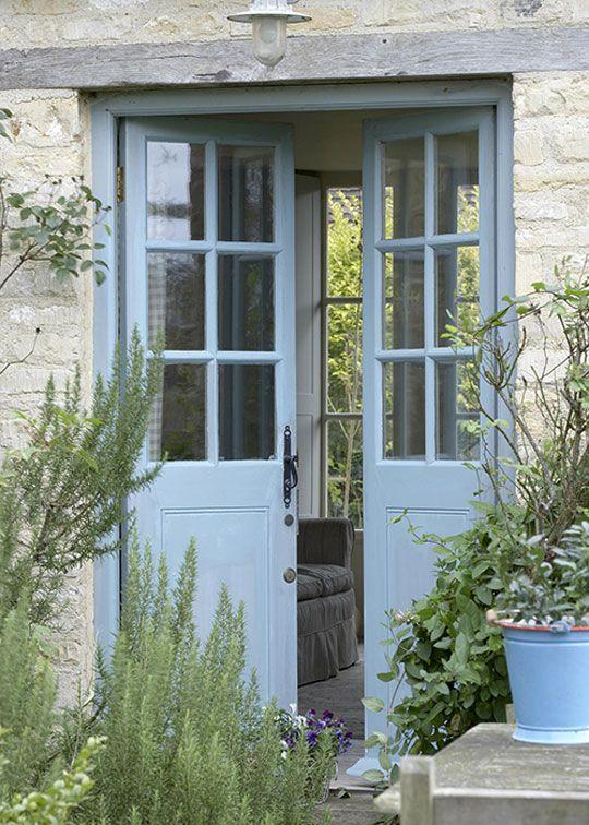 cottage door cottage garden door entry entryway forward french doors