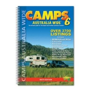 Camps Australia Wide - One of the most valuable resources for vagabonds in Australia. A guide to camping spots of Australia, showing rest areas, free camps, station stays, low-cost caravan parks, national parks, state forests, state parks and reserves.