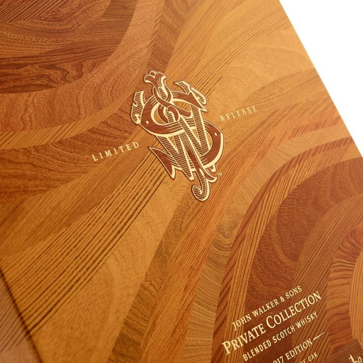 Johnnie Walker Private Collection 2017 Mastery of Oak on Packaging of the World - Creative Package Design Gallery