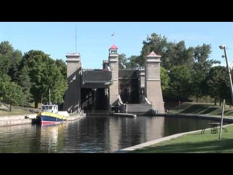 Peterborough Lift Lock - Canada - is the highest hydraulic boat lift in the world