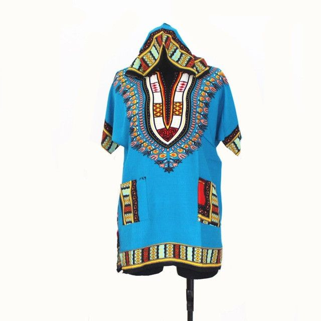 New Design Dashiki Hoodies For Teenagers African Print Dashiki Hood Fashion Streewear hoodies for Girls and Boys