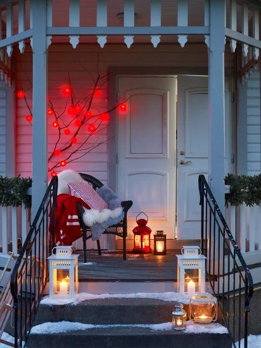 Winter porches...