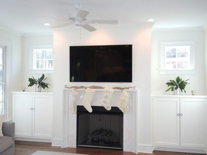 Custom Bookcase Pricing Fireplace Cabinets Each Side Diy Fireplace
