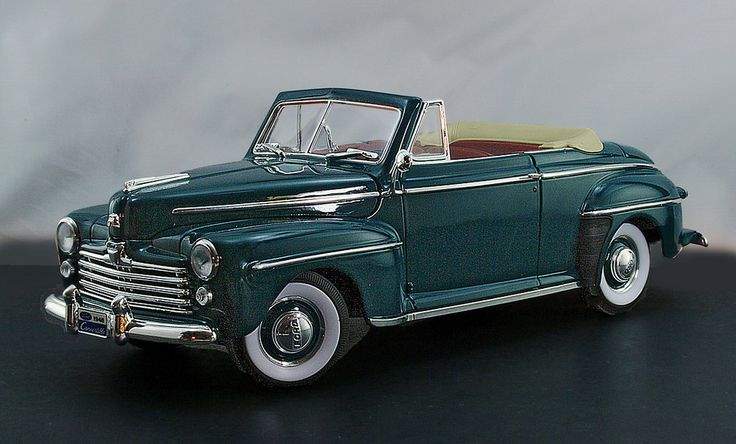 1948 Ford Super De <b>Luxe</b> Convertible 1:18 by Yat Ming | 1:18 my cars