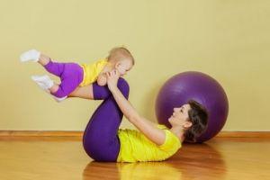 Ασκήσεις για τη μαμά και το μωρό