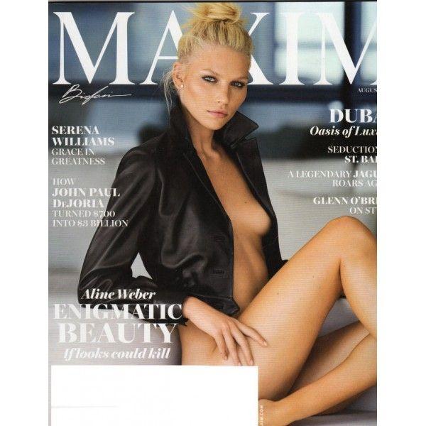 Maxim Magazine - Aline Weber