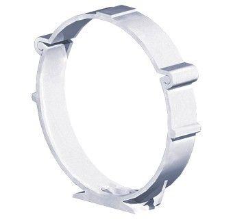 Colier tub circular Blauberg PlastiVent - Diametru 125mm