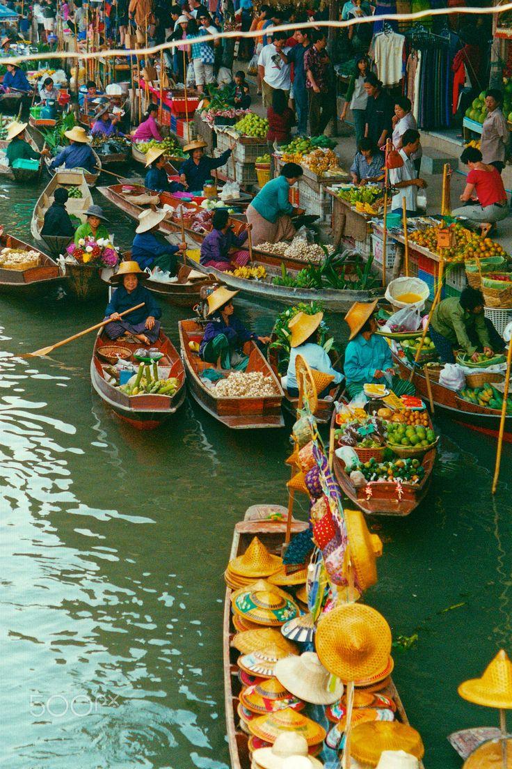 Bangkok floating market, Thailand