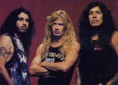 Tom Araya of Slayer, Dave Mustaine of Megadeth, Chuck Billy of Testament