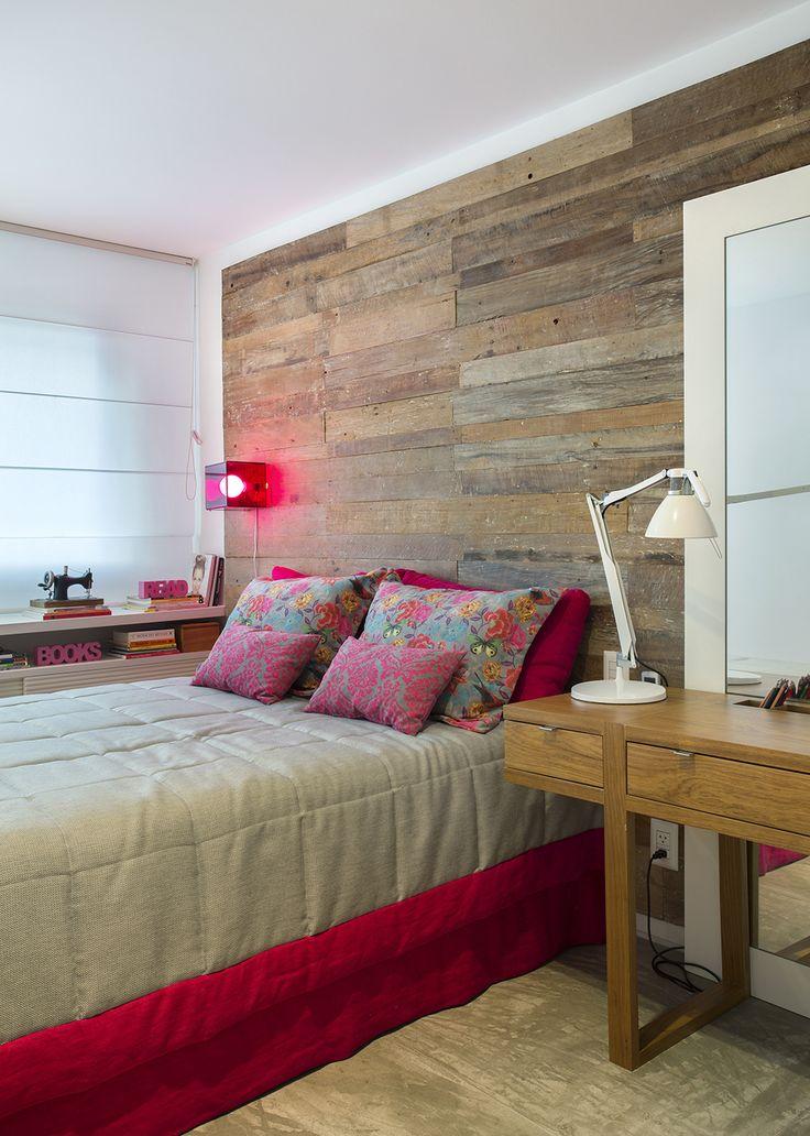 Decoração de: Quarto de casal; almofadas rosas; Casa de Valentina