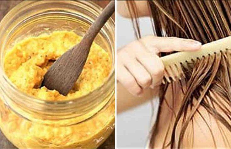 El cabello crece como loco con ayuda de esta receta casera-Aunque muchos expertos sostienen que no es posible acelerar el crecimiento del cabello, existen varios remedios caseros populares que han pasado de generación en generación para ello. La única manera de comprobar si realmente funcionan es probarlos.Ingredientes  1 huevo 1 cucharada de most
