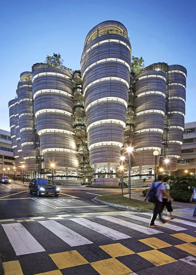 Heatherwick Studio | 'Nanyang Technological University Learning Hub' | Singapore | 2015 | www.heatherwick.com