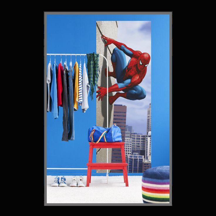Spiderman 90 degree