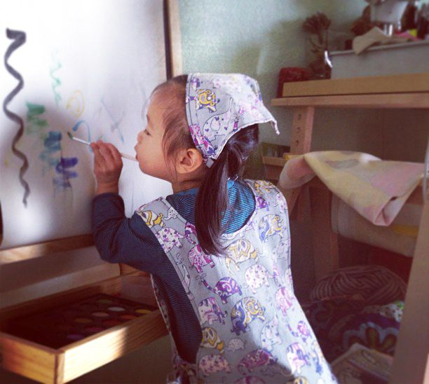 barnförkläde sy själv