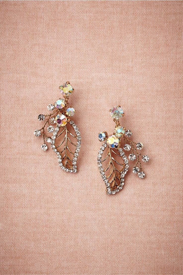Floriculture Earrings in Bride Bridal Jewelry at BHLDN