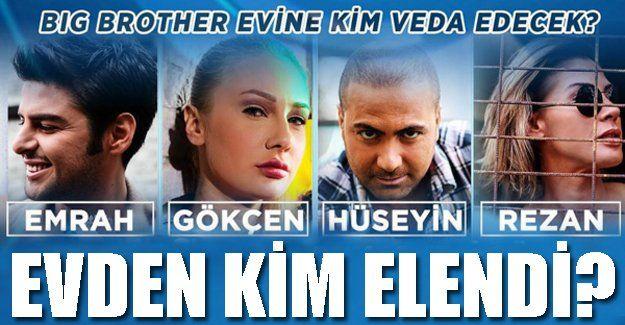 Big Brother Türkiye 7'inci haftasında Star TV'de eleme gecesi yaşındı. Asuman Krause'nin sunduğu Big Brother Türkiye evinde eleme potasında