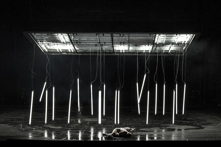 """Schauspiel Leipzig-""""Zeiten des Aufruhrs"""" - Director: Enrico Enrico Lübbe, Set Designer: Raimund Orfeo Voigt, Costume Designer: Bianca Deigner, Lighting Designer: Carsten Rüger, Music: Bert Wrede"""