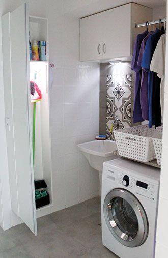 decoracao alternativa de apartamento:comprido: armário mais comprido serve para armazenar os produtos de