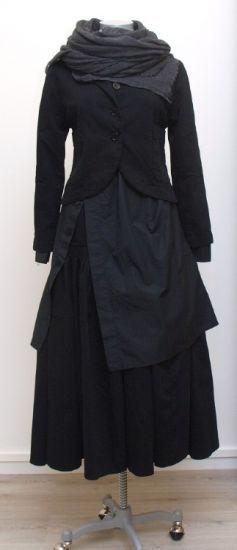 nelly johansson - Longbluse EVIANA black - Winter 2015 - stilecht - mode für frauen mit format...
