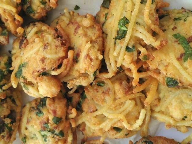 Perkedel Tahu Mi Spaghetti