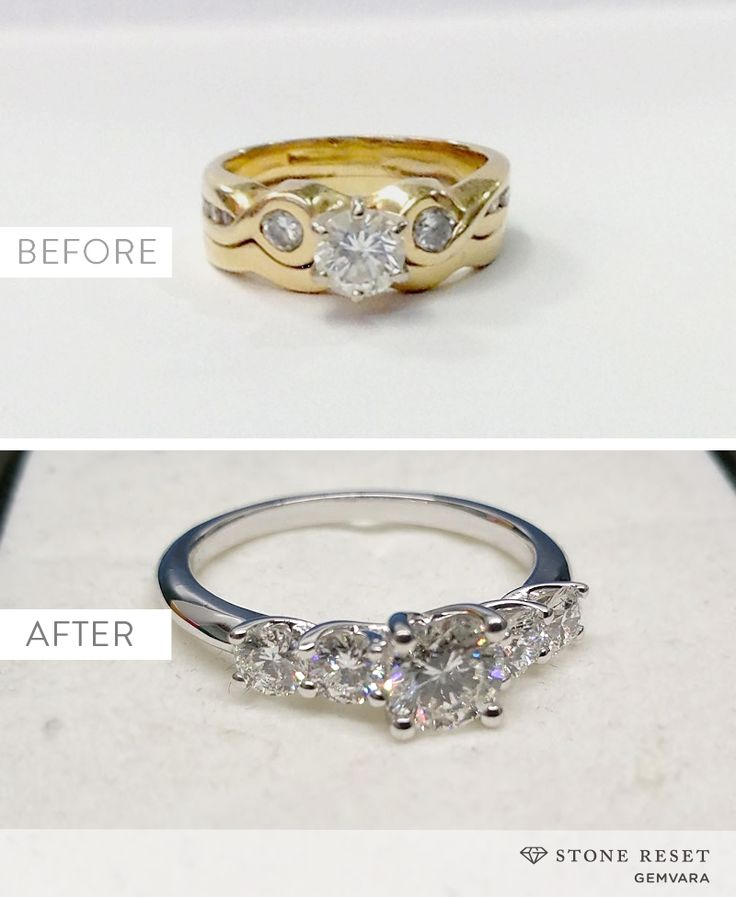 Something old to something new! It's easy to transform a loved piece into a new design you'll actually wear with Stone Reset by Gemvara.