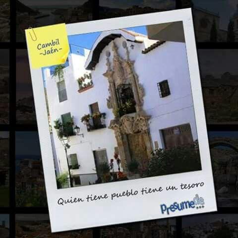Pueblos de España: #Cambil (#Jaén) ¿Es el tuyo? Síguenos en www.facebook.com/presumede y #presumede pueblo #cambil #pueblosdejaen #andalucia #pueblosdeandalucia#pueblos