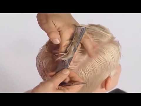 Aprenda a fazer um corte pixie com franja lateral - YouTube