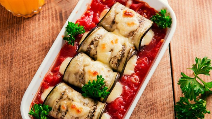 Substitute pasta with this healthy and delicious eggplant recipe.