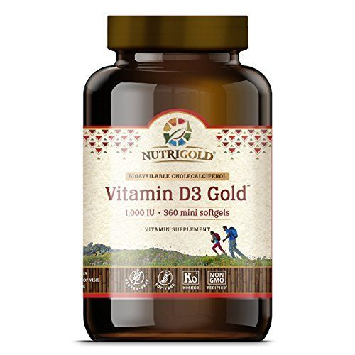 Vitamin D3 1000 IU, 360 Mini Softgels (GMO-free, Preservative-free, Soy-free, USP Grade Natural Vitamin D in Organic Olive Oil) //Price: $15.99 & FREE Shipping //     #hashtag2