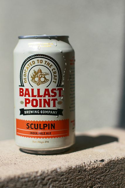 If you want a great canned craft beer look no further... Sculpin by Ballast Point, it's what's for summer! Or whenever!