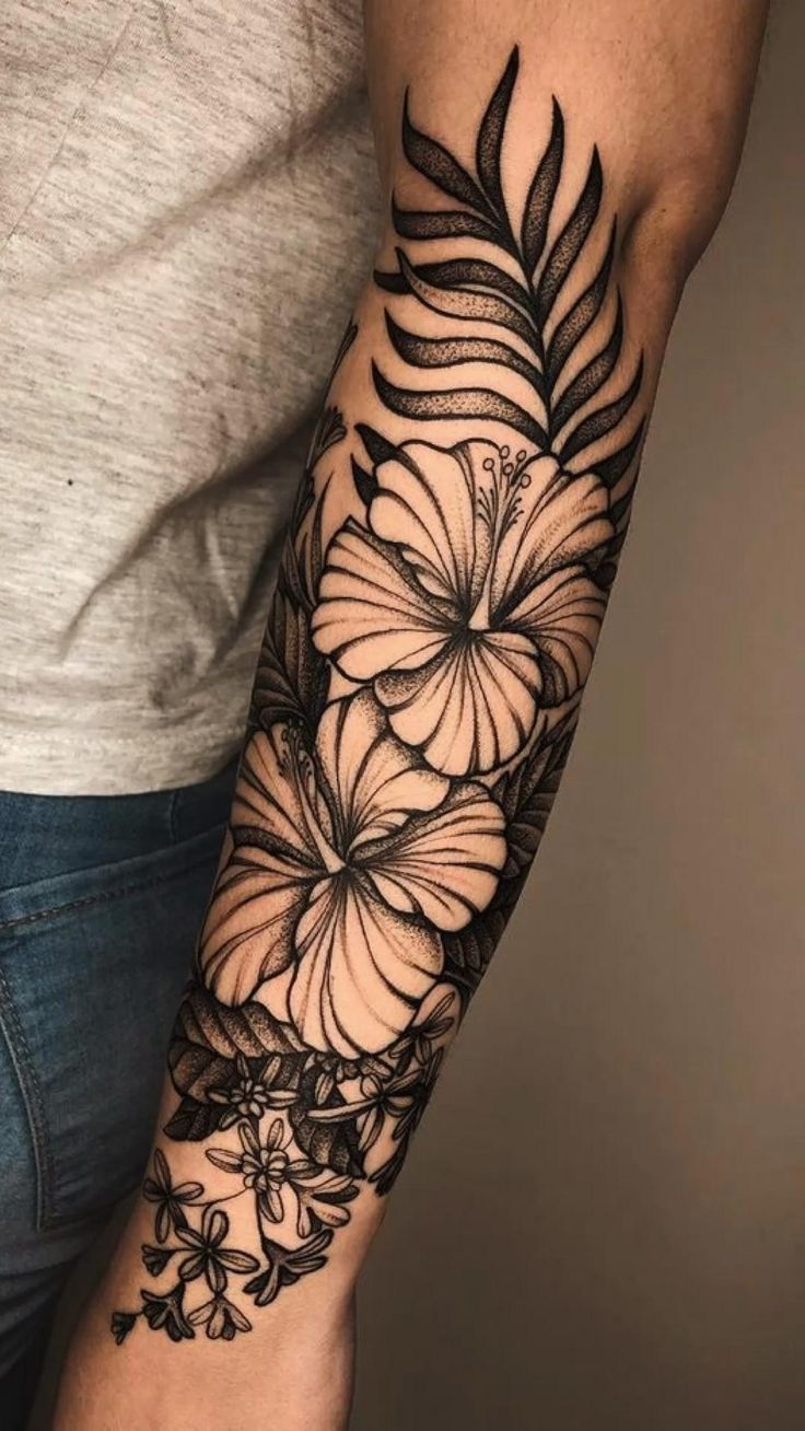 Cute Tattoos, Leg Tattoos, Body Art Tattoos, Small Tattoos, Tattoos For Guys, Half Sleeve Tattoos For Women, Piercing Tattoo, Tropisches Tattoo, Piercings